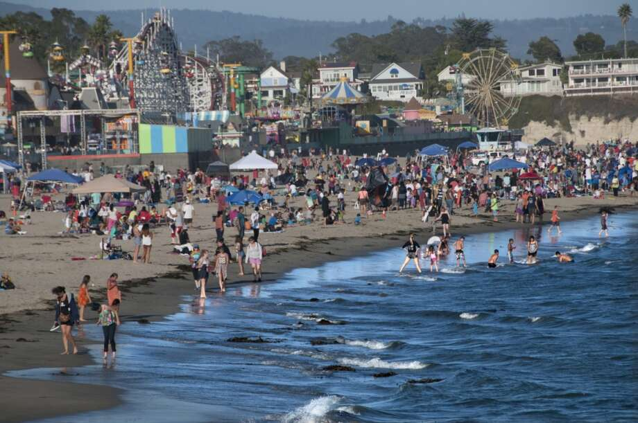 6. Main Beach, Santa Cruz, Calif. Photo: Mitch Diamond, Getty Images