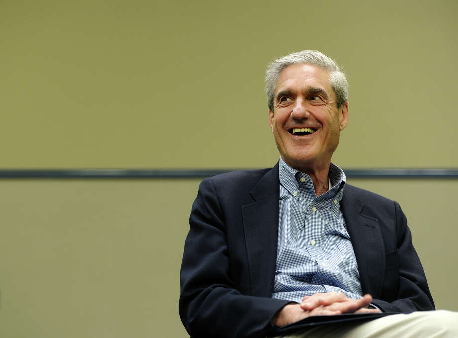 Former FBI director Robert Mueller speaks with the Beaumont Enterprise on Thursday. Mueller was the keynote speaker at the Spindletop Blowout at the Beaumont Civic Center on Thursday evening. Mueller was named director on September 4, 2001, a week before a terrorist attack brought down the World Trade Center in New York City. Photo taken Thursday, 3/27/14 Jake Daniels/@JakeD_in_SETX Photo: Jake Daniels / ©2014 The Beaumont Enterprise/Jake Daniels