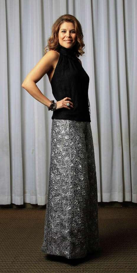 Estela Cockrell, one of the 2014 Best Dressed honorees, photographed at Neiman Marcus, Wednesday, Jan. 29, 2014. ( Karen Warren / Houston Chronicle ) Photo: Karen Warren, Staff / © 2013 Houston Chronicle