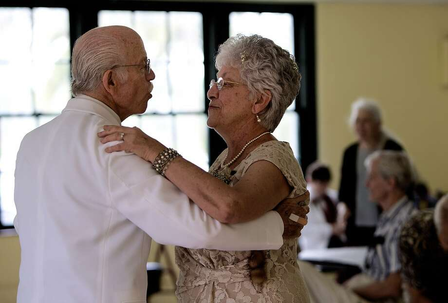 Grab a partner and spend the evening dancing at the Greenwich Ballroom Dance Party at Round Hill Community House on Saturday from 7 to 11 p.m. Find out how to sign up.  Photo: Cherie Diez, Associated Press