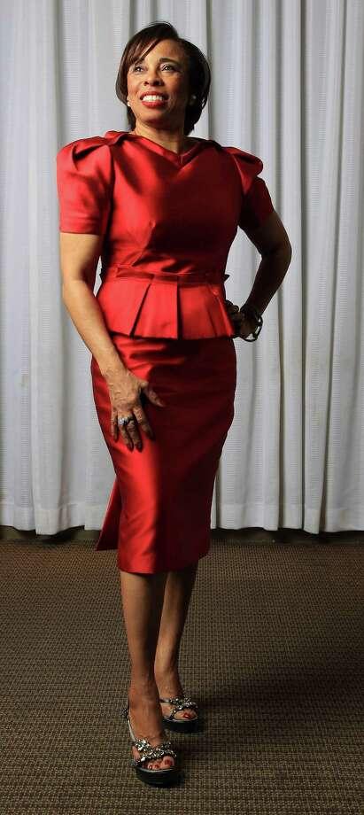 Phyllis Williams in Aquilano Rimondi Photo: Karen Warren, Staff / © 2013 Houston Chronicle