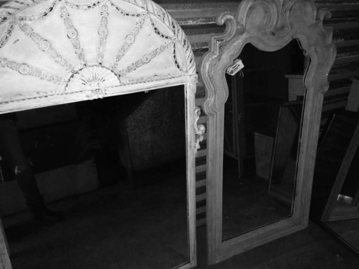 French country mirrors will be available at vintage/consignment home goods store Cuatro.