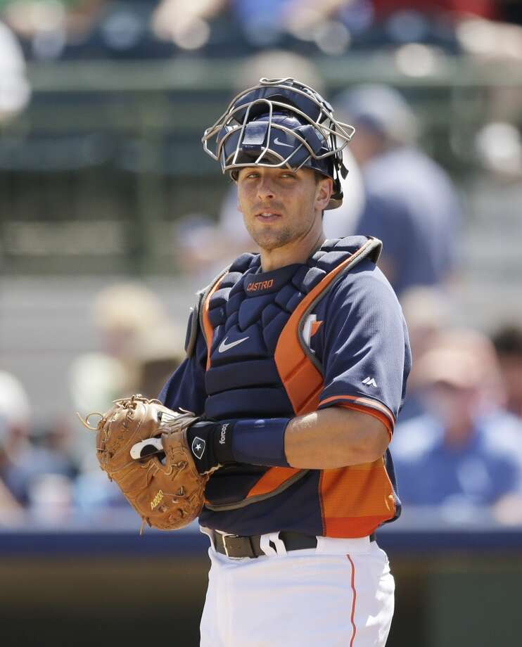 Jason Castro Catcher Photo: Carlos Osorio, Associated Press