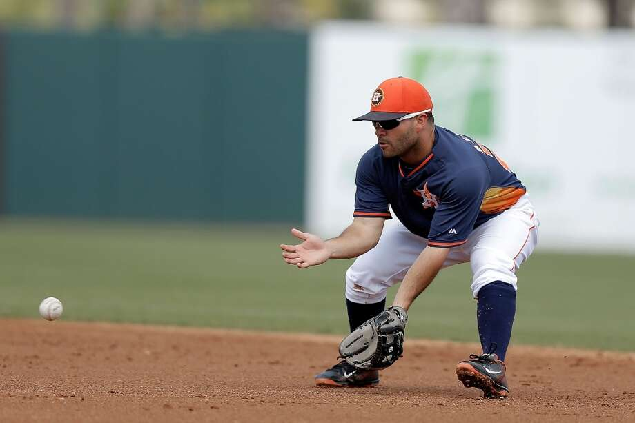 Jose Altuve Second baseman Photo: Stacy Revere, Getty Images