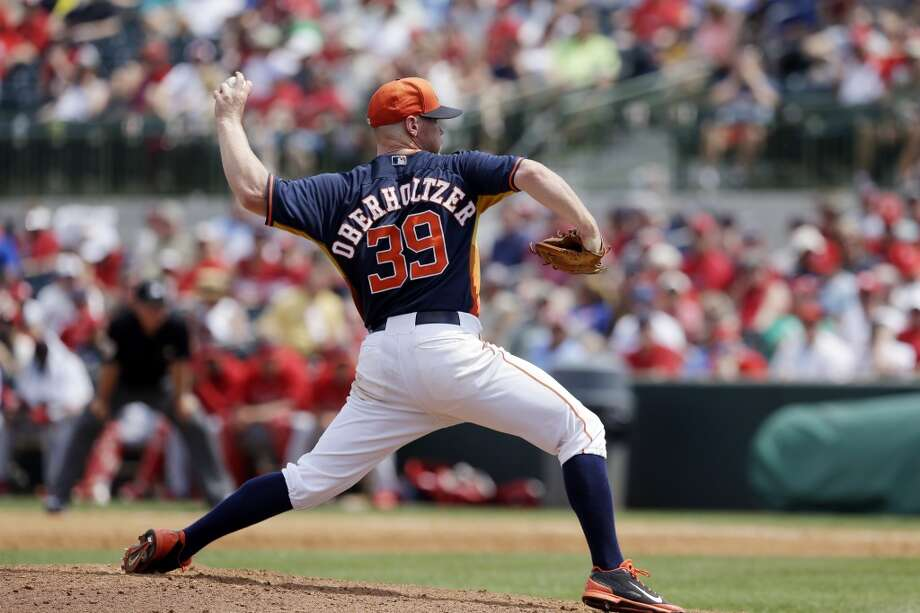 Brett Oberholtzer Starting pitcher Photo: Carlos Osorio, Associated Press