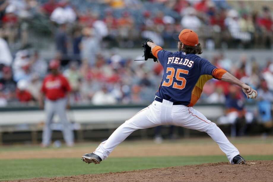 Josh Fields Relief pitcher Photo: Carlos Osorio, Associated Press