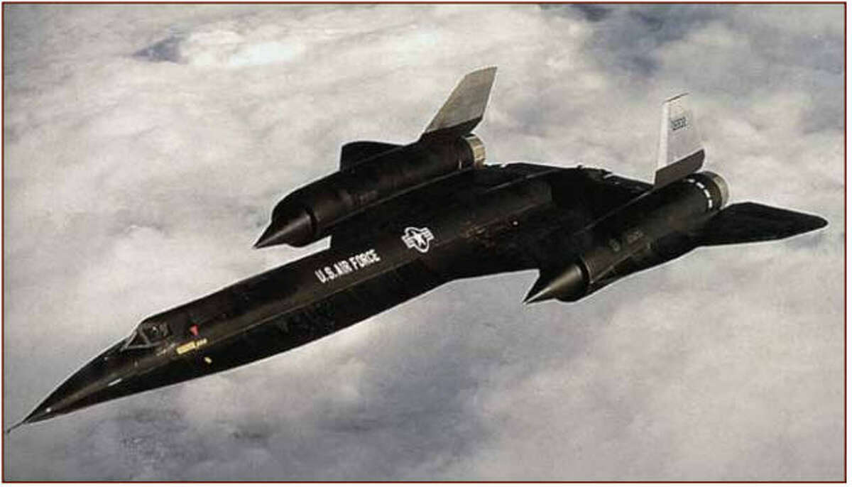 The A-12 reconnaissance aircraft was built by Lockheed and tested in 1962. The plane was discontinued in 1968. Photo: CIA.gov