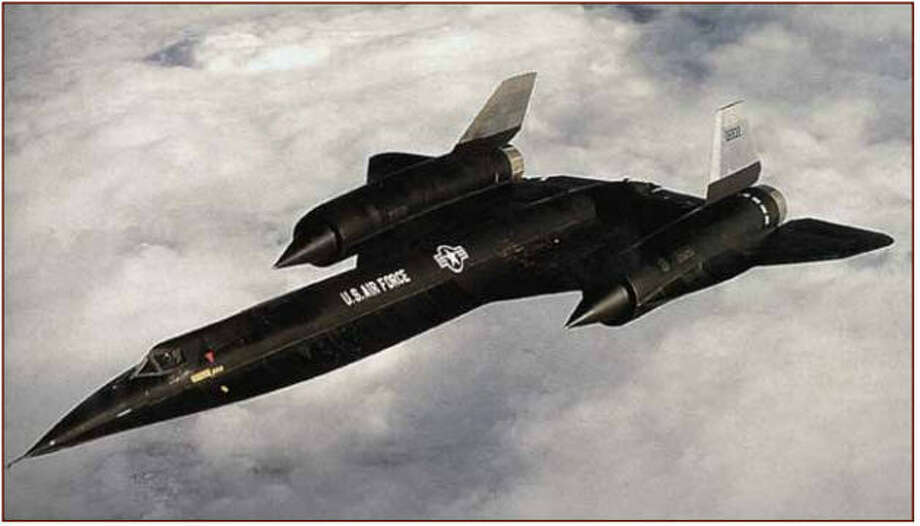 The A-12 reconnaissance aircraft was built by Lockheed and tested in 1962. Photo: CIA.gov