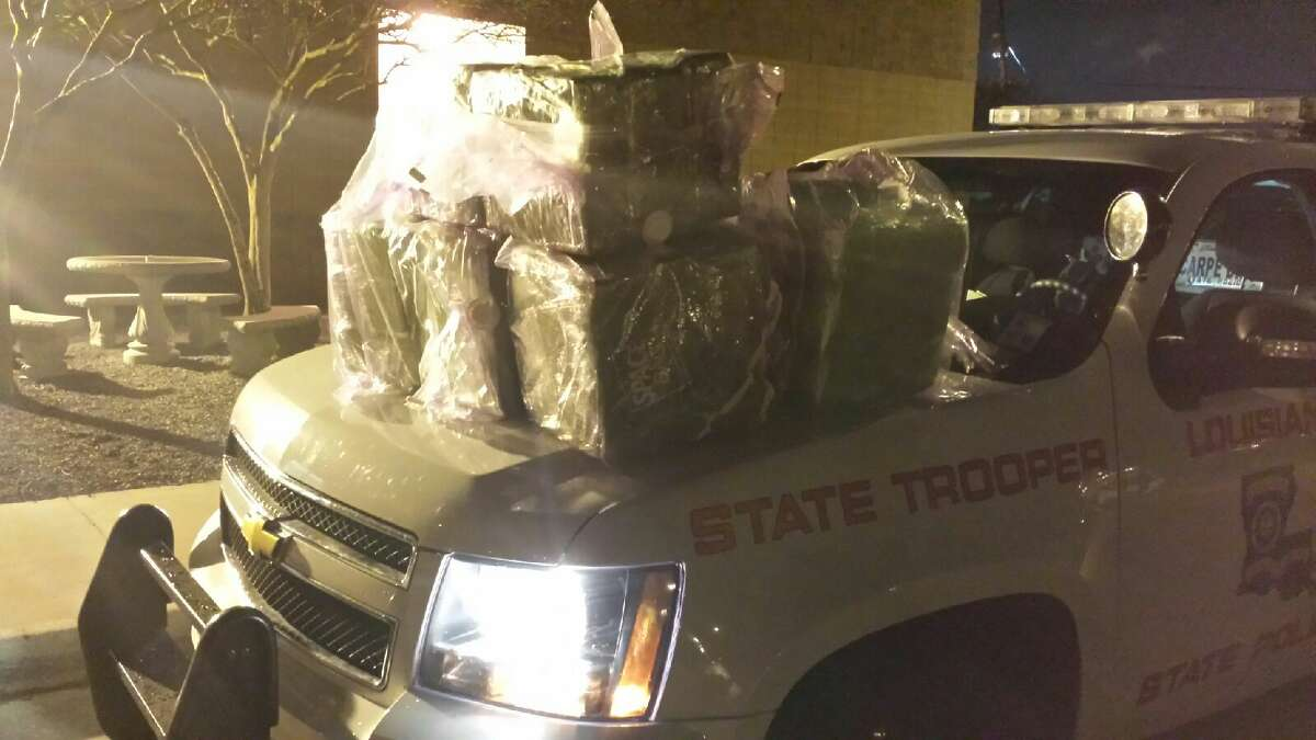 March 28, 2014: Martin Martinez, 34, from La Marque, was driving a Mercedes on I-10 in Baton Rouge, March 23, when he was pulled over by troopers for improper lane usage. LSP said a search revealed 244 pounds of marijuana.