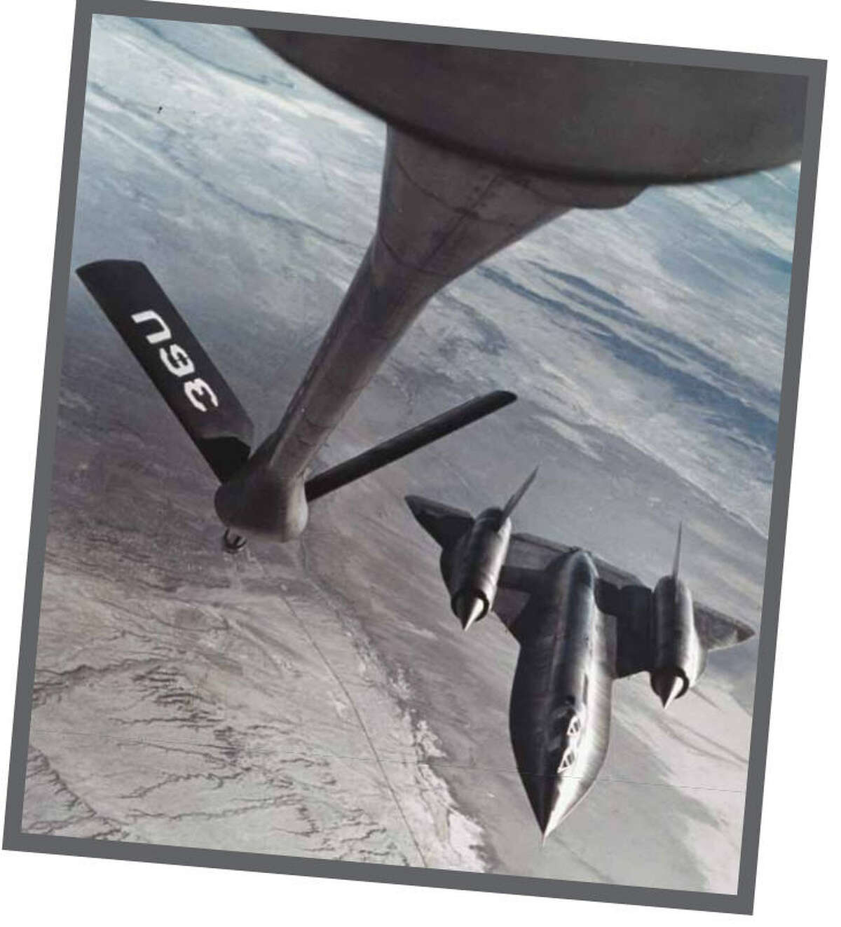 The only A-12 built, the
