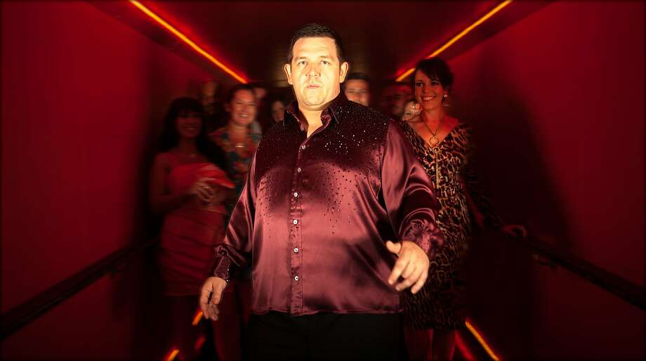"""There is a look that thin people give to a big man who is good at dancing,"" Nick Frost says. Photo: Entertainment One"