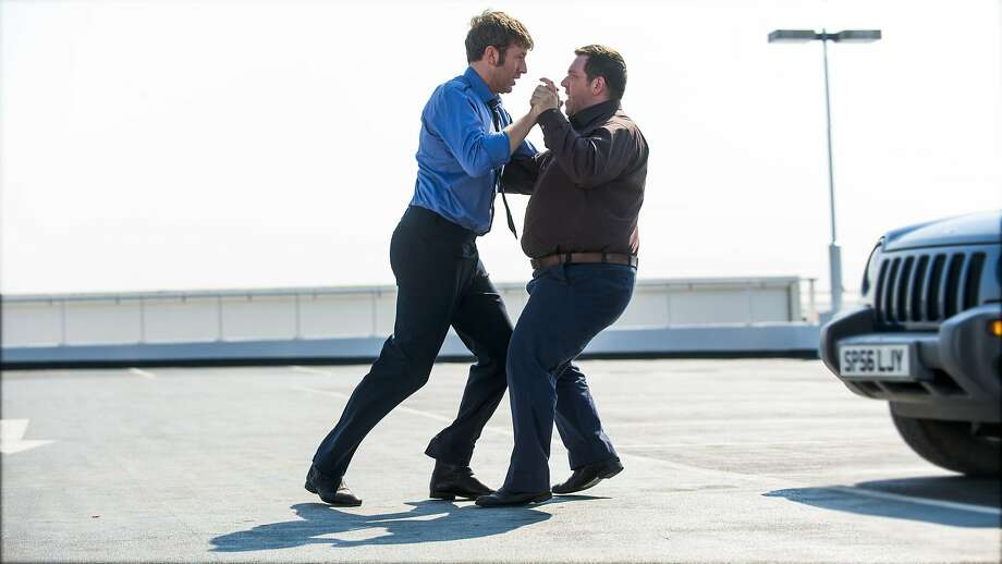 "Chris O'Dowd, left, and Nick Frost in "" Cuban Fury"" _CUB5066-Edit-3 Photo: Entertainment One"