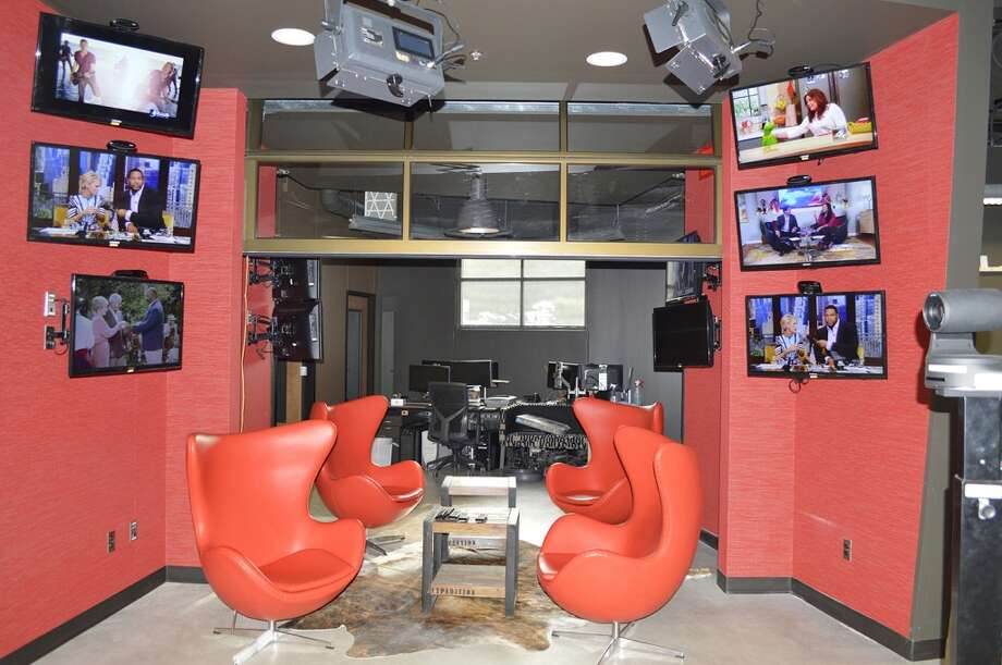 Creative Lounge: Located in the Creative Services Department, is a place for staffers to collaboratively brainstorm ideas, hang out for a chat or just sit and drum up  inspiration. Photo: KSAT