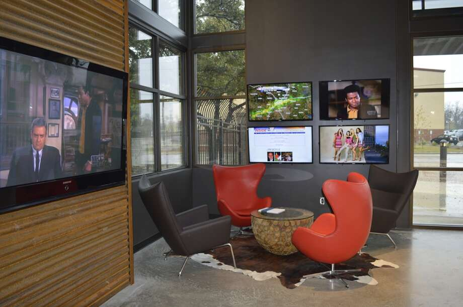 KSAT Lobby: The station's reception area. Photo: KSAT