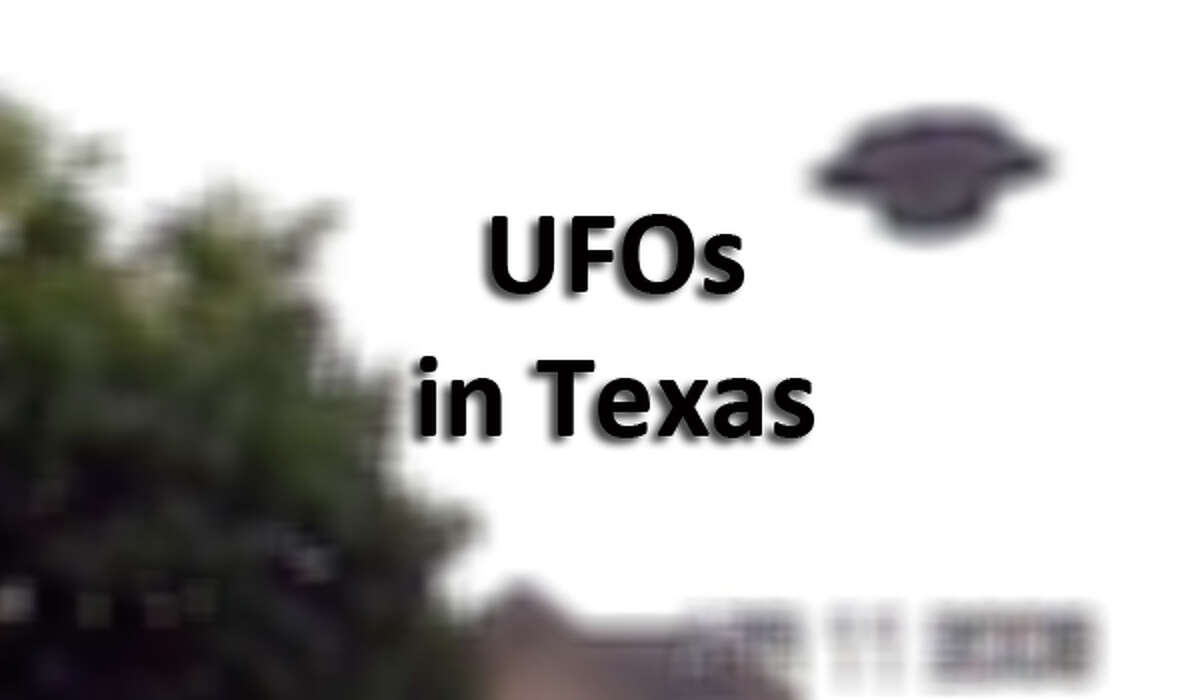 Click through the gallery for more UFO sightings in Texas.