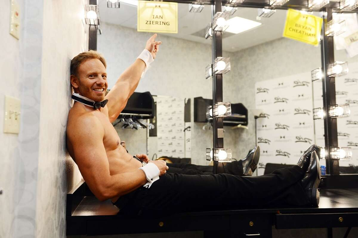 Ian Ziering debuts in Chippendales at the Rio All-Suite Hotel and Casino on June 8, 2013 in Las Vegas.