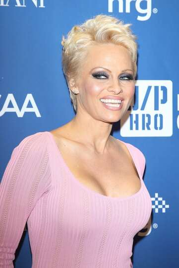 Pamela Anderson's pixie cut is definitely a departure from her long ...