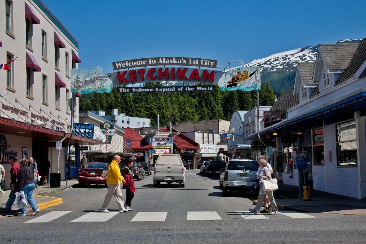 2. Alaska Well-being score: 64.1