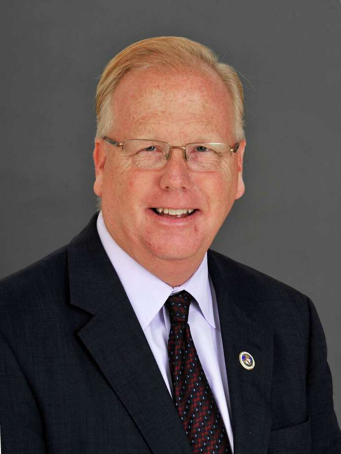 This is Danbury, Conn. Republican Mayor Mark Boughton photographed Monday, Oct. 14, 2013. Photo: Michael Duffy / The News-Times