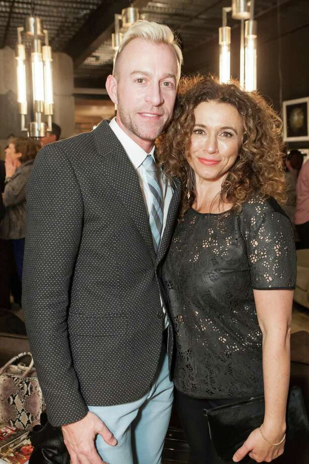 Michael Purdy and Angelina Umansky at the Cavalier@Coup launch party on March 27, 2014. Photo: Laura Morton For Drew Altizer, Drew Altizer Photography / Drew Altizer Photography