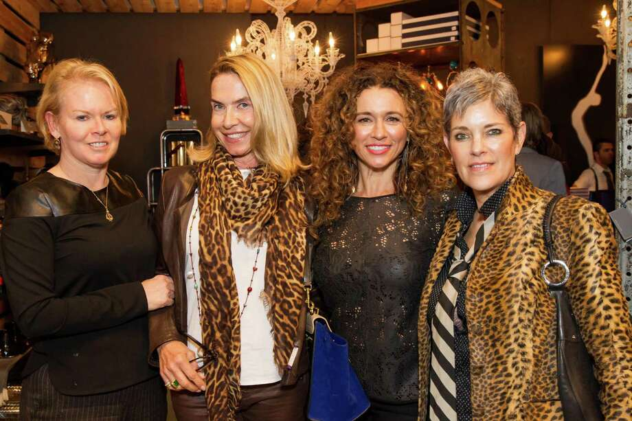Lauren Williams, Britt Bachner, Angelina Umansky and Mary Lou Castellanos at theCavalier@Couplaunch partyon March 27, 2014. Photo: Sandra Garcia For Drew Altizer, Drew Altizer Photography / Drew Altizer Photography