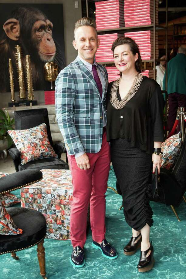 Jay Jeffers and Alissa Carroll at theCavalier@Couplaunch party. Photo: Sandra Garcia For Drew Altizer, Drew Altizer Photography / Drew Altizer Photography