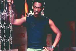 """Beverly Hills Cop:: Following ""48 Hrs."" and ""Trading Places,"" newly minted movie star Eddie Murphy got the mix of action and comedy just right. The payoff was the top-grossing movie of the year. Streaming free on Netflix. (Paramount Pictures)"