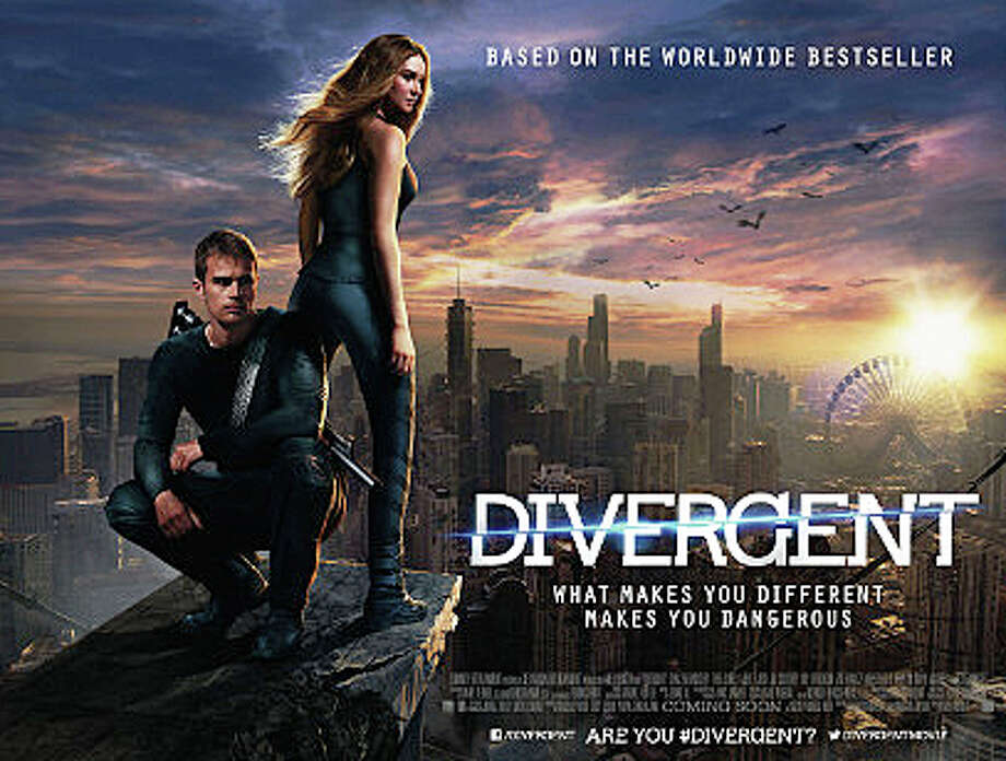 """Divergent"" is the latest in a series of young-adult novels to be transformed into a big-budget movie. Photo: Contributed Photo / Westport News"