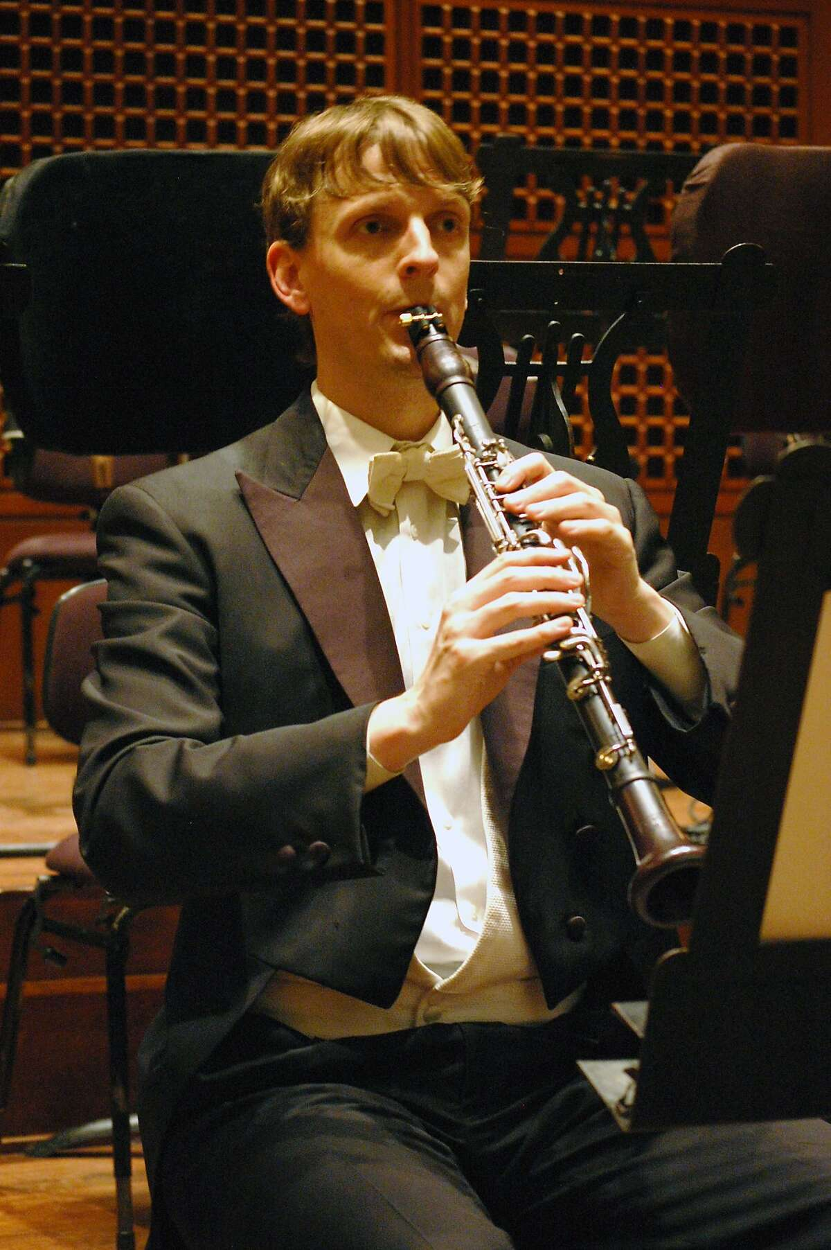 SF Symphony clarinetist Carey Bell