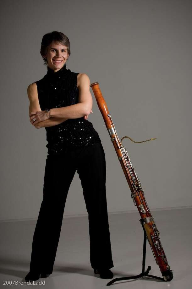 Kristin Wolfe Jensen is principal bassoonist of the River Oaks Chamber Orchestra. Photo: Courtesy Photo / 2007BrendaLadd