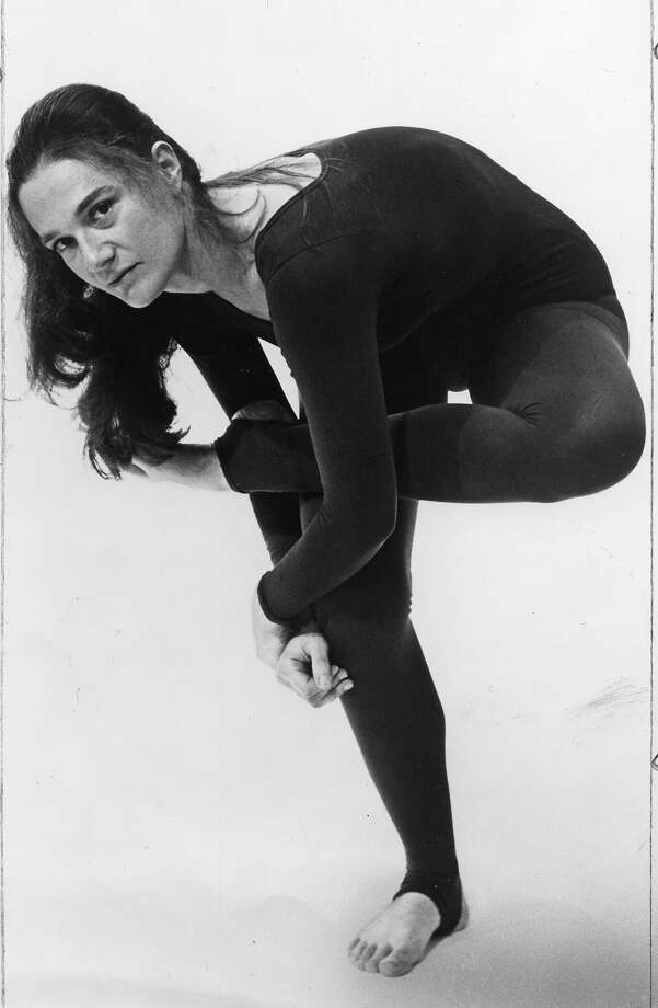 Margaret Jenkins, here in 1978, will perform this week. Photo: The Chronicle
