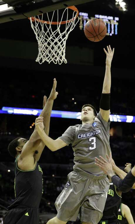 Creighton's Doug McDermott, who led the nation this season with 26.9 points per game, faced Baylor in the NCAA tournament in a matchup of Catholic and Baptist schools won by the Bears. Photo: David J. Phillip / Associated Press / AP