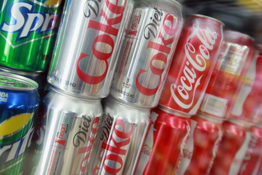 Under Seattle's Sweetened Beverage Tax, sugary soft drinks are slapped with a 1.75 cents per ounce tax. Diet soft drinks are not taxed. Photo: Scott Olson, Getty Images