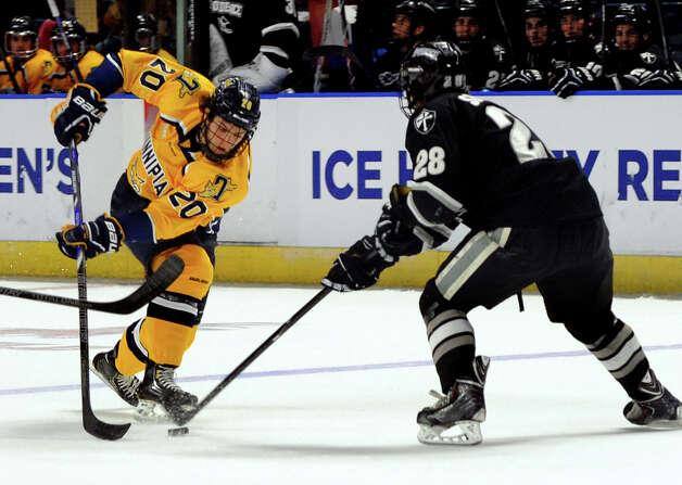 Providence blanks Quinnipiac in East Region hockey ...