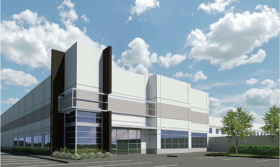 International Airport Centers broke ground on the Airtex Distribution Center at 300 W. Airtex Blvd.
