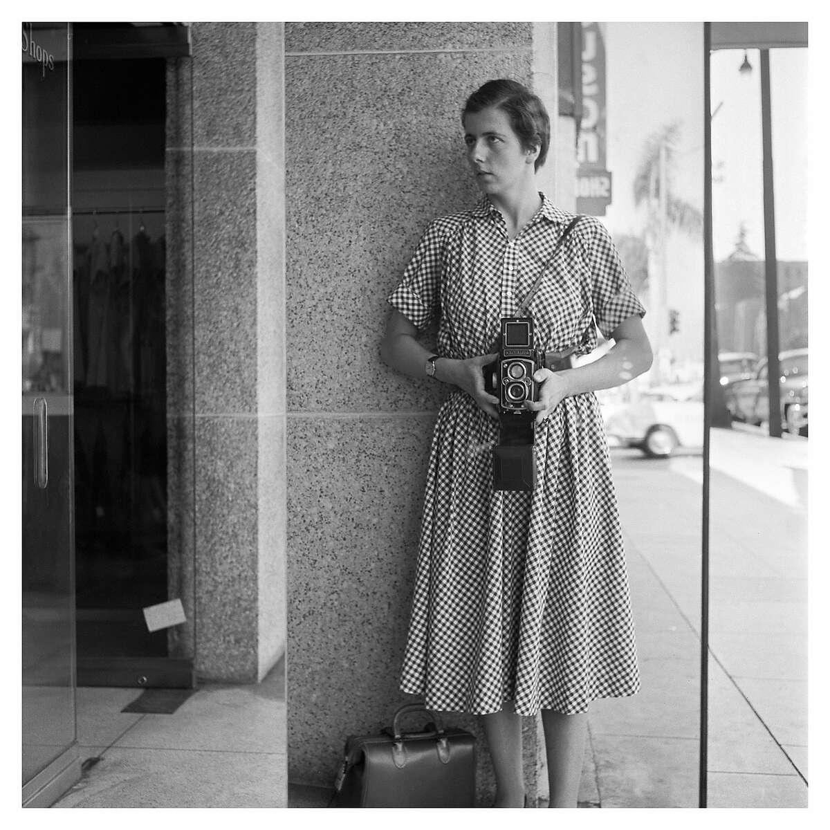 """Vivian-Maier_55 37x37.jpg �""""See All About It"""" Vivian Maier's Newspaper Portraits"""