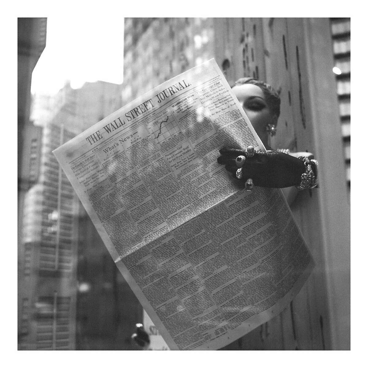 "news002.jpg �""See All About It"" Vivian Maier's Newspaper Portraits"