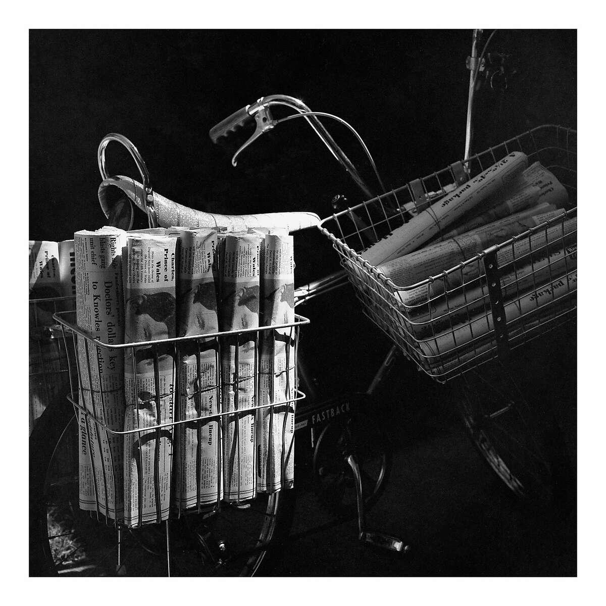 "Bike.jpg �""See All About It"" Vivian Maier's Newspaper Portraits"