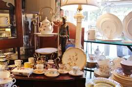 1. Orinda Village Antiques 107 Orinda Way: A native of Nottingham, England, Susan Leech parlayed her background in interior design into this shop. In addition to specializing in fine china teacups, accessories and silver serve ware for 35 years, she teaches a class covering the history and customs of tea that includes an actual high tea. (925) 254-2206. www.orindavillageantiques.com.