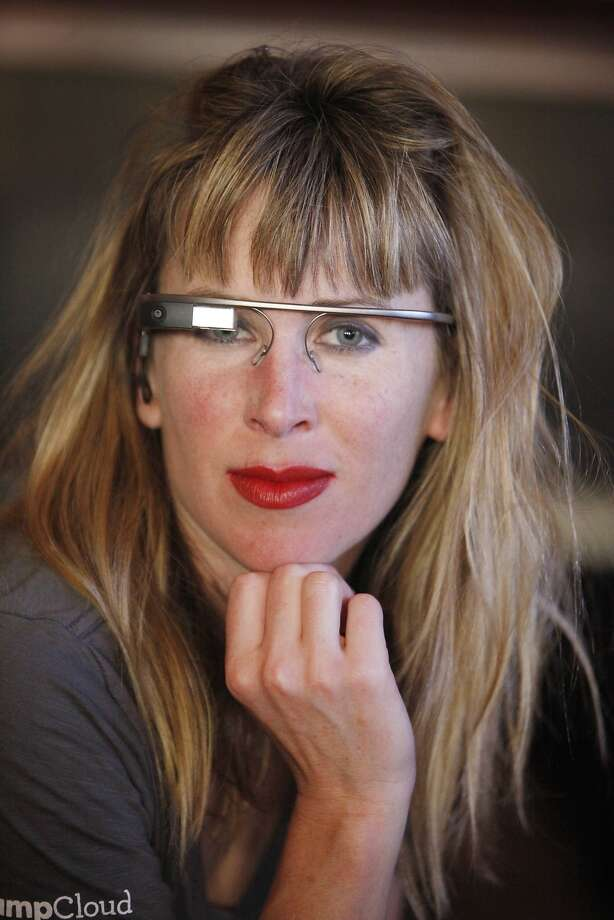 Sarah Slocum reportedly was attacked when she wore her Google Glass in a Haight Street bar. Photo: Lea Suzuki, The Chronicle