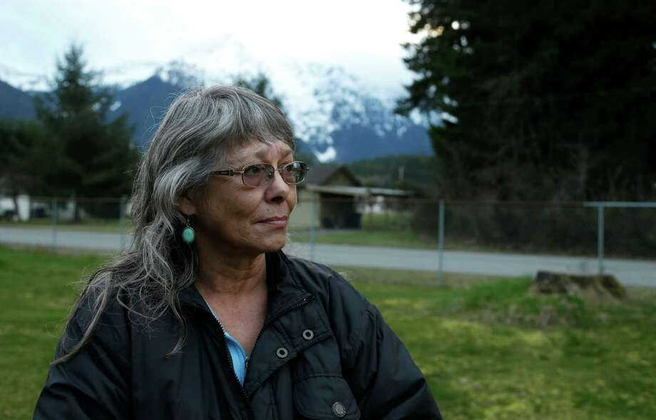 Robin Youngblood survived the massive mudslide that hit the nearby community of Oso, Wash. on March 22 and was rescued by a helicopter. Photo: Ted S. Warren, STF / AP