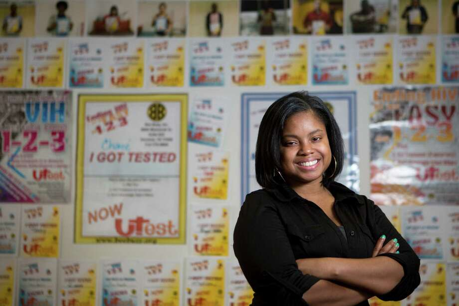 Hydeia Broadbent, who was born with HIV, will speak at the 7th Annual Women and Girls HIV/AIDS Awareness Celebration at Bethel's Place, 12660 Sandpiper. Photo: Marie D. De Jesus, Staff / © 2014 Houston Chronicle