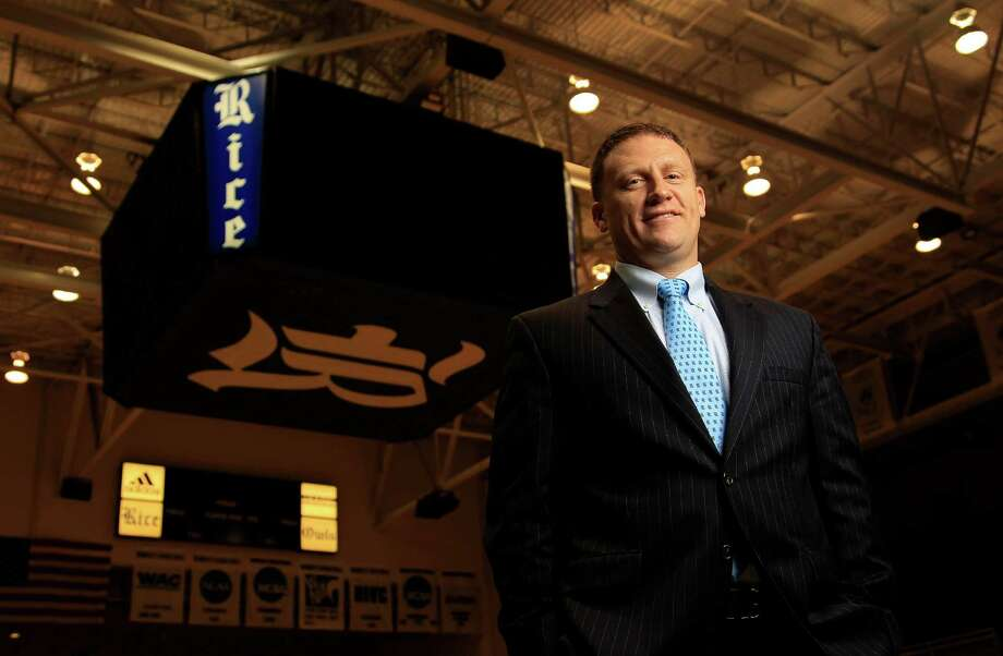 New Rice men's basketball coach Mike Rhoades will finally get to put his stamp on a Division I program. Photo: Karen Warren, Staff / © 2014 Houston Chronicle