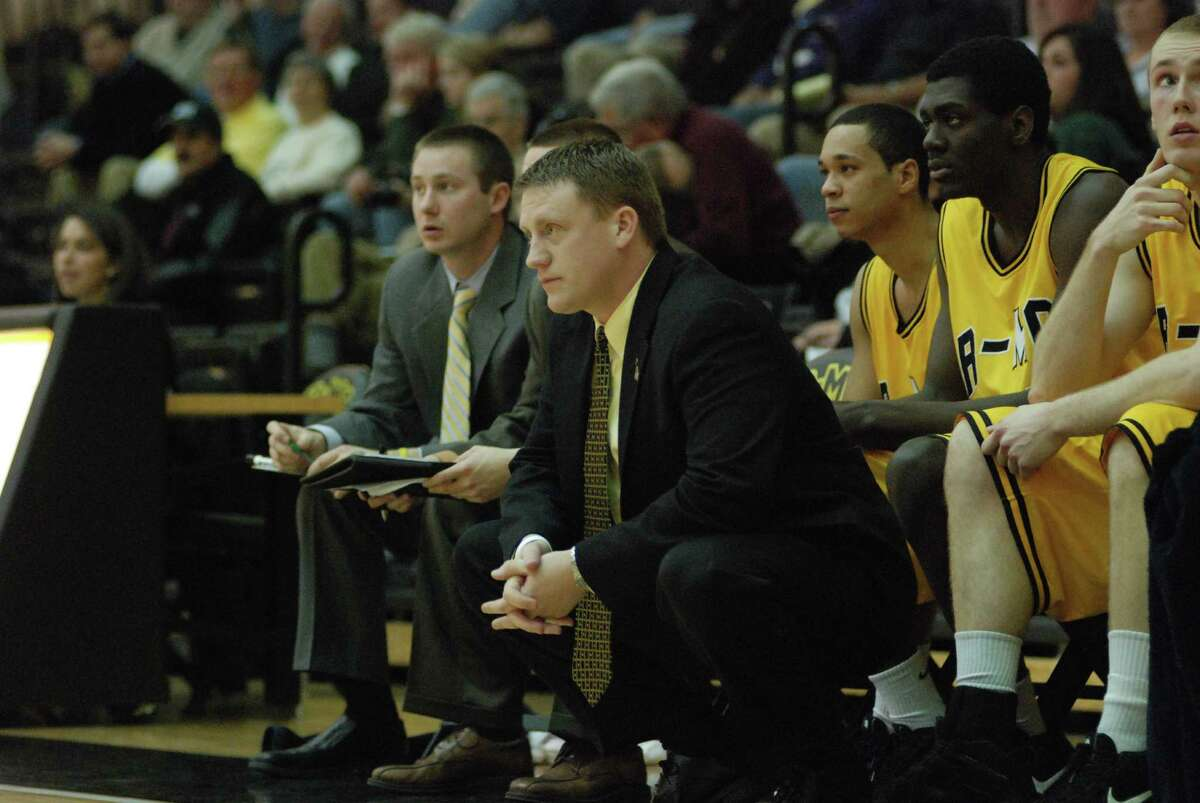 New Rice basketball coach Mike Rhoades during his time at Randolph-Macon College.