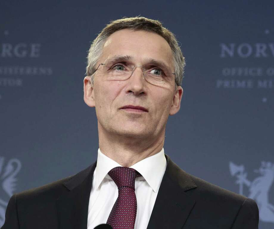 Former Norwegian Prime Minister Jens Stoltenberg has been selected to become the next chief of the NATO alliance, starting in October. Photo: Hakon Mosvold Larsen / Associated Press / NTB Scanpix