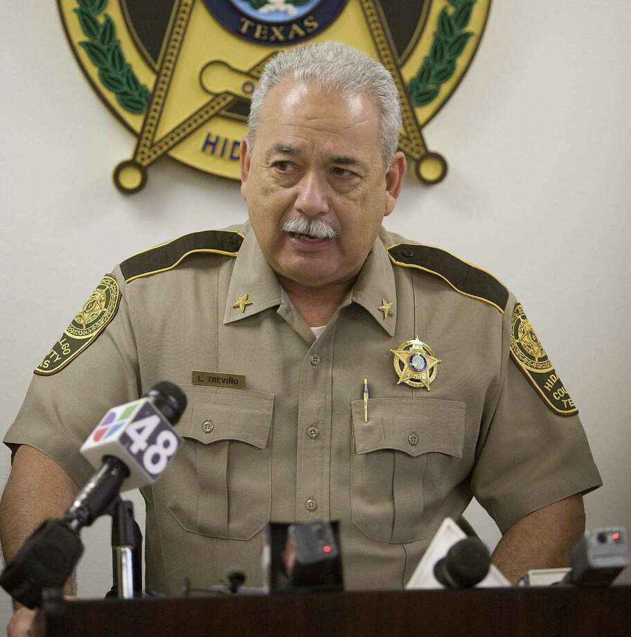 """Hidalgo County Sheriff Guadalupe """"Lupe"""" Trevino cited """"internal and external pressures"""" in submitting his resignation Friday. His tenure as sheriff has been plagued by controversy. Photo: James Coburn / Associated Press / The Monitor"""