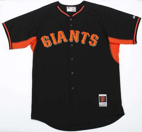 e1814f57be5 San Francisco Giants Authentic 2014 Personalized Alternate Cool Base jersey  - the only black one in