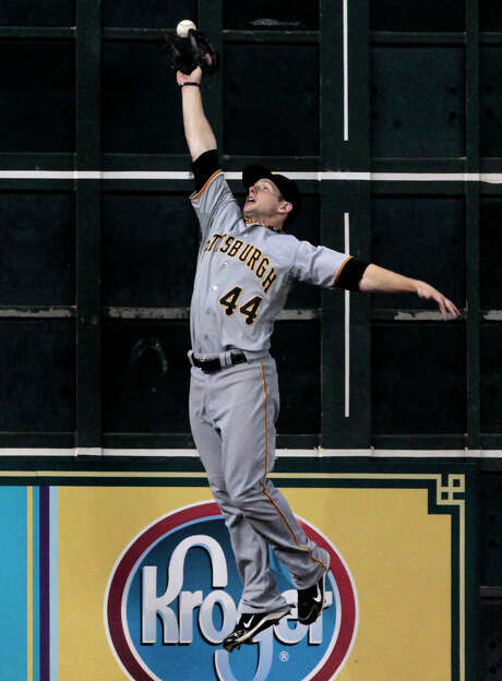 Outfielder Alex Presley played for Pittsburgh and Minnesota last season. Photo: Cody Duty, Staff / © 2011 Houston Chronicle