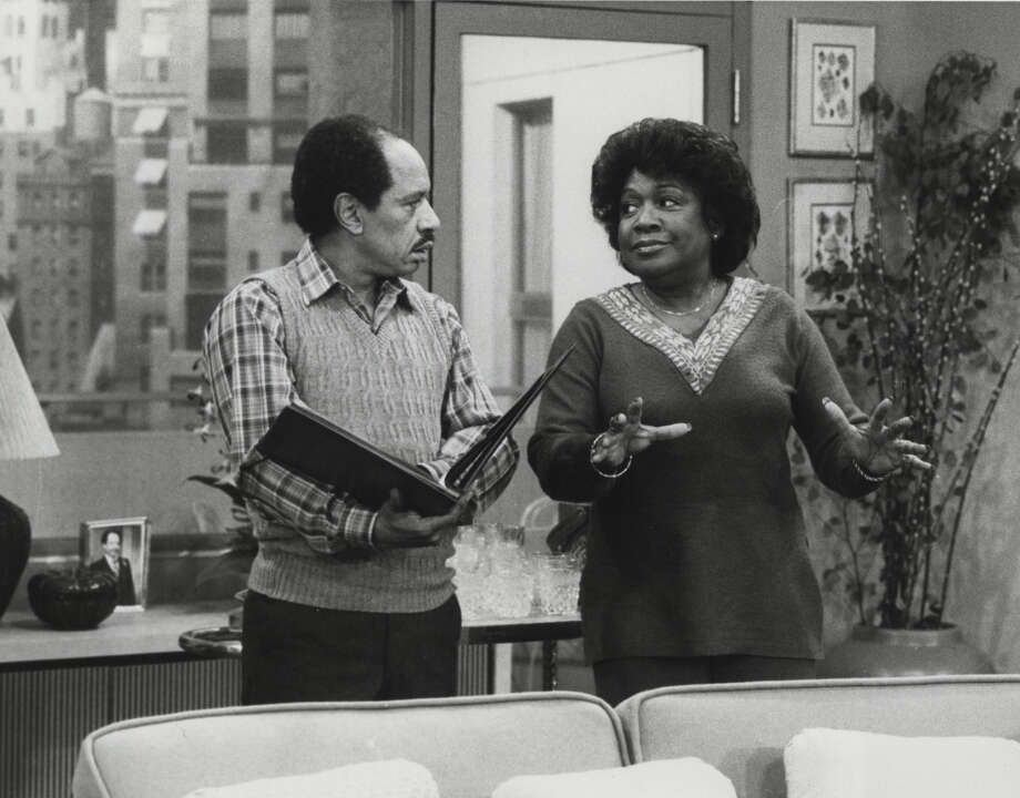 "Sherman Hemsley and Isabel Sanford star in an episode of ""The Jeffersons""  on CBS Television Network, file photo, 9/25/81. Photo: CBS / handout"