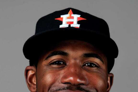 Houston Astros Dexter Fowler (21) photographed during media day at the Houston Astros spring training facility,Friday, Feb. 21, 2014. ( Karen Warren / Houston Chronicle )